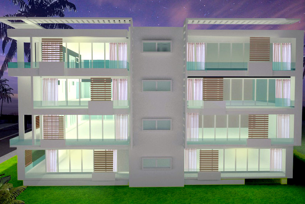 Green Vista Front Design